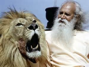 Sri Gurudev with Arthur.